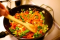 Fry your vegetables, don't boil them!